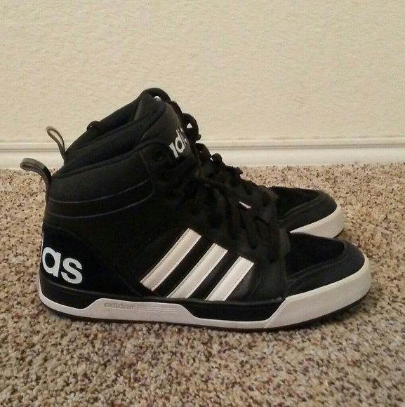 Adidas Neo Raleigh 9TIS High Top Sneakers Size 8